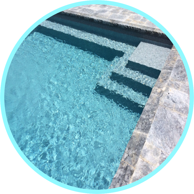 Tex Step Inground Pool Vinyl Liners 2