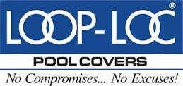 Loop Loc pool covers logo